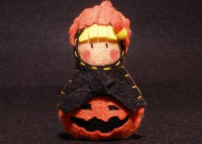 Calabaza Halloween Yatriöska