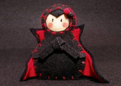 Drácula Halloween Yatriöska
