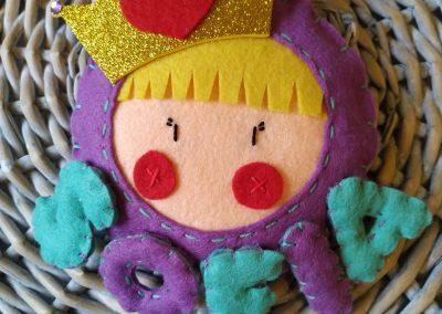 Nombre para habitación infantil - Princesa