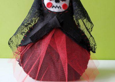 Catrina de Halloween