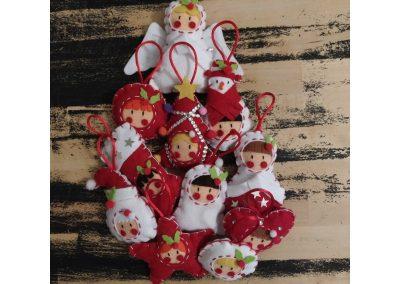 Pack de adornos navideños