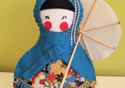Geisha azul